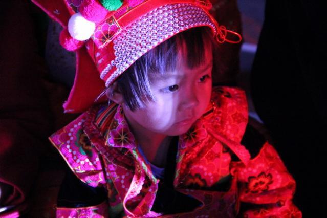 """红河州""""文化大篷车·千乡万里行""""文化惠民演出走进蒙自西北勒"""