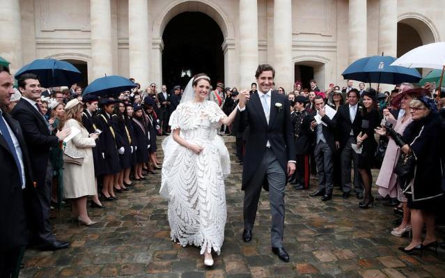 拿破仑后人迎娶奥地利女公爵.jpg