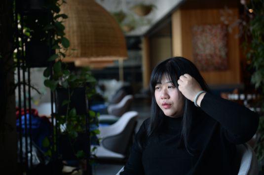 乔碧萝首次露脸采访:等我减肥瘦下去,依旧是好看的