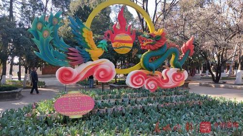 大观公园郁金香展成为游客春节打卡新去处4.jpg