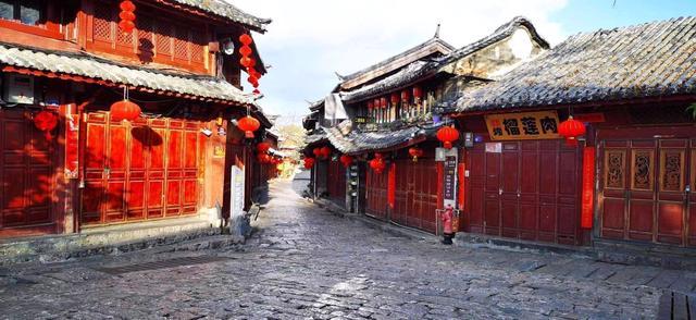 丽江古城公房在景区暂停接待游客期间将适当减免租金