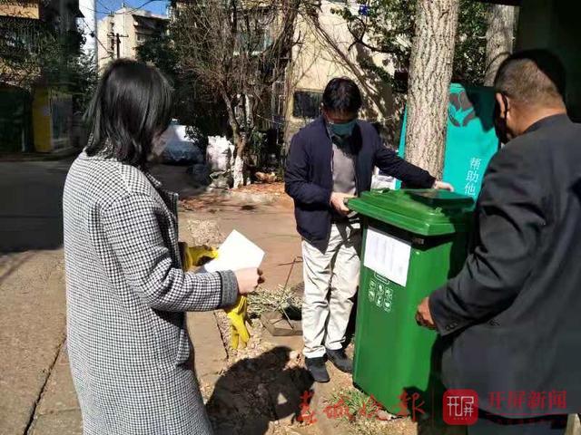 五华区有小区设置废弃口罩专用回收桶