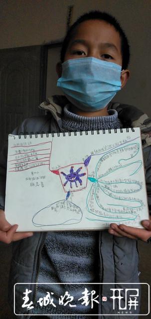 【一线传真】昭通这个班级很厉害:画图防疫情,听课不停学! (5).jpg