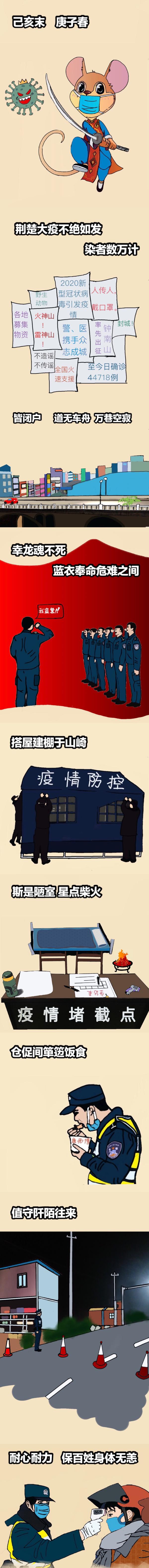 95后女警手绘战疫漫画2.jpg