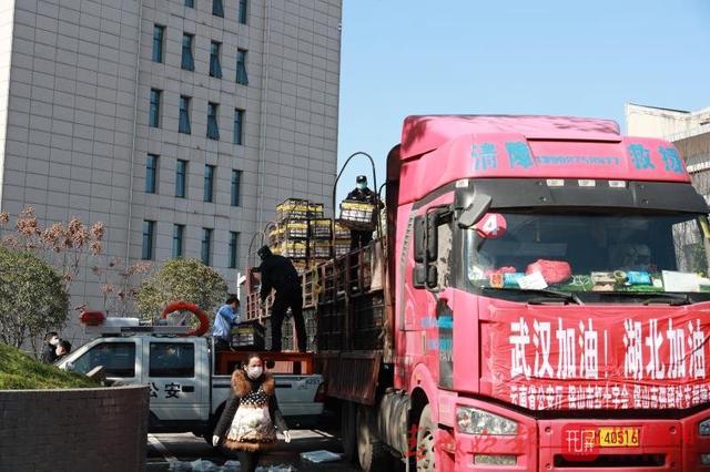 【共同战疫】113吨!云南驰援湖北公安的蔬菜水果今日到达