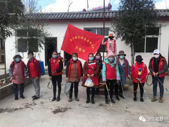 金江镇:疫情防控与爱国卫生运动同步