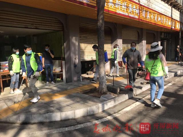 五华区开展环境卫生死角整治工作