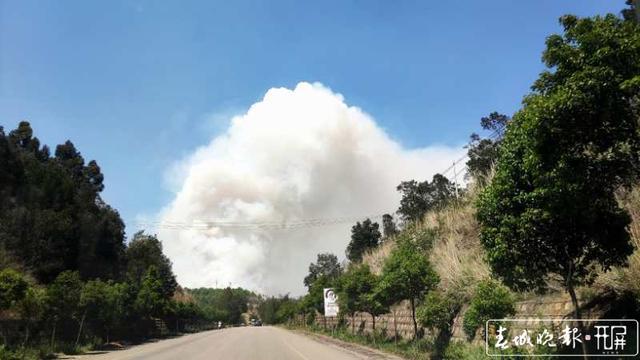 安宁森林火灾