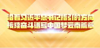 沿着习近平总书记指引的方向,接续奋斗谱写好中国梦的云南篇章