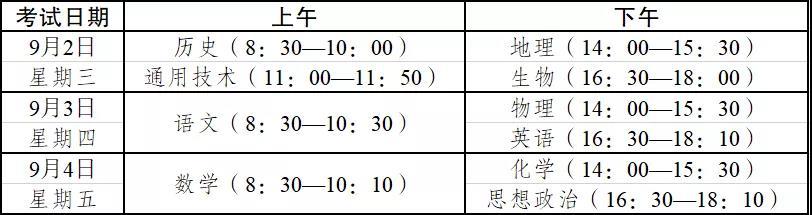 权威发布丨云南高中生家长注意!2020年春季学期末高中学业水平考试时间安排出炉