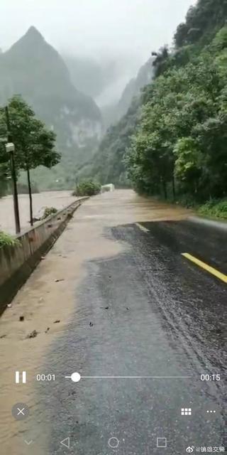 昭通境内多条公路无法通行3.jpg