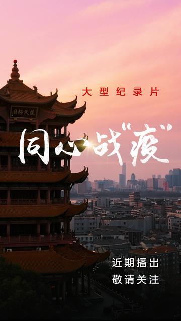 """六集大型纪录片《同心战""""疫""""》即将开播"""