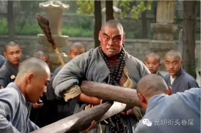 """晋松——演绎率性鲁智深的他,却充满了""""铁汉柔情"""""""