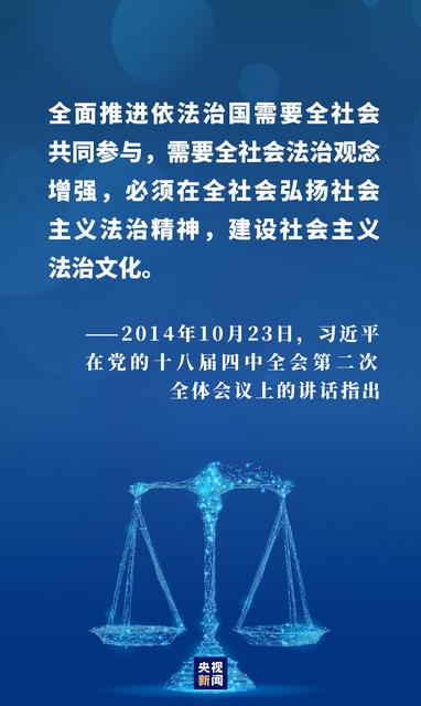 四个关键词,看法治中国建设新成就