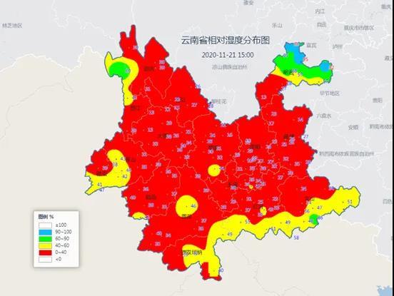 刚刚,云南这些地方发布大风蓝色预警和寒潮蓝色预警!