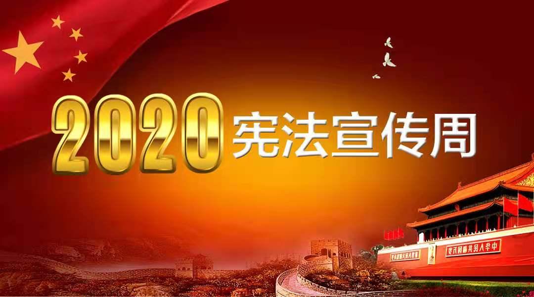 """2020""""宪法宣传周"""""""