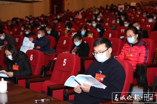 政协安宁市六届五次会议开幕 去年提案实现全部办结 (1).jpg