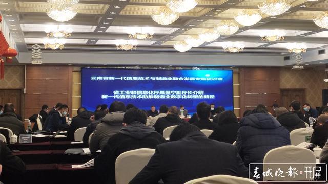 进一步深化新一代信息技术与制造业融合发展,云南今年的重要工作有这些 孙江荭 摄
