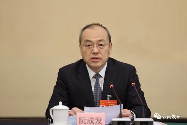 """云南省代表团举行全体会议审查""""十四五""""规划和2035年远景目标纲要草案"""