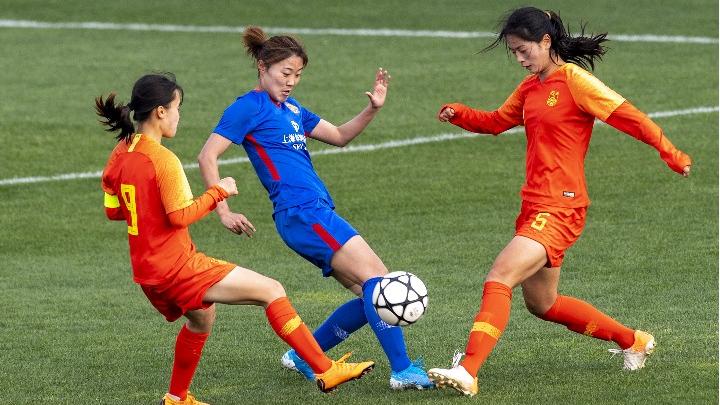全国女足锦标赛在昆明开赛!
