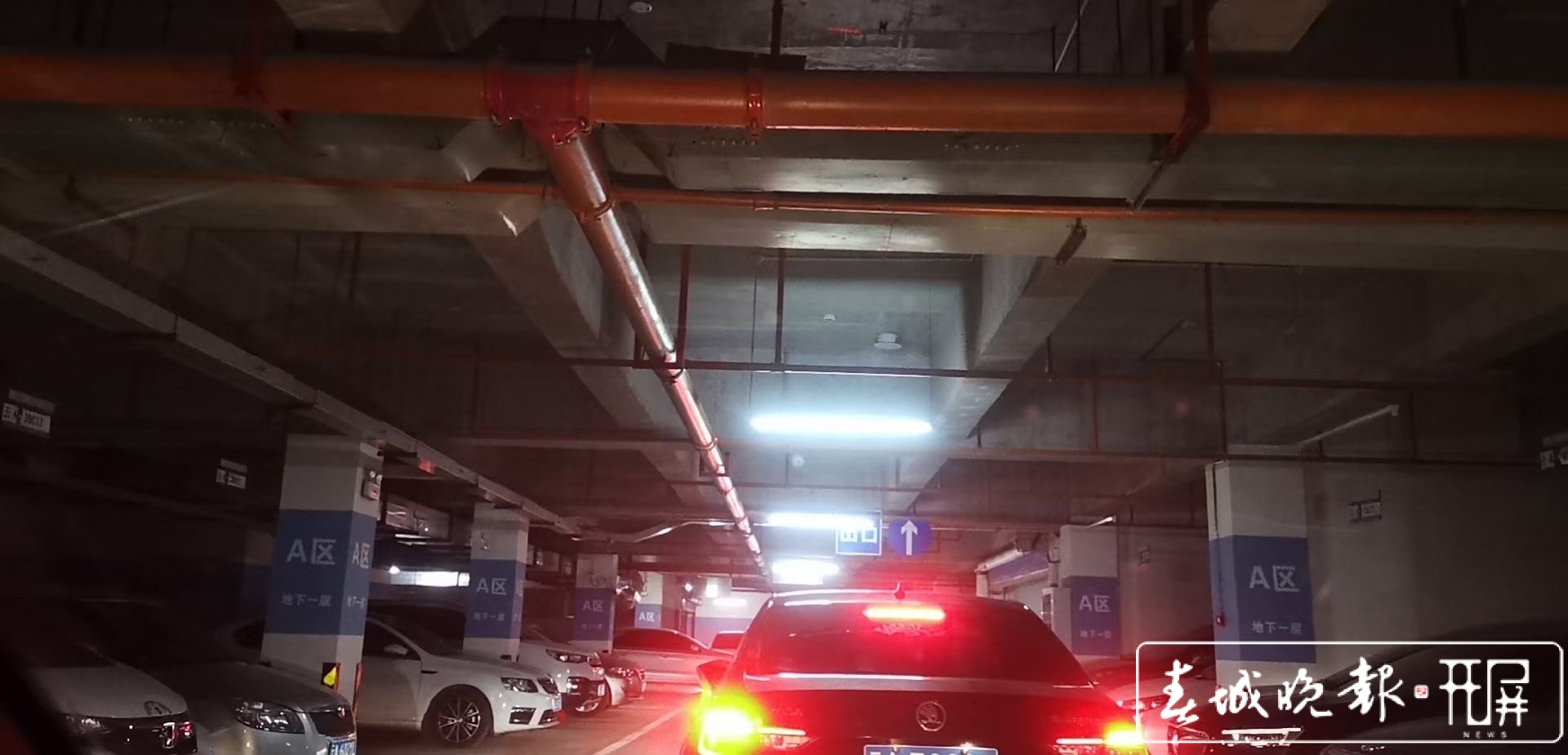 """10分钟的路用了1小时!今早昆明又""""红了""""!有人被堵在地下停车场…"""