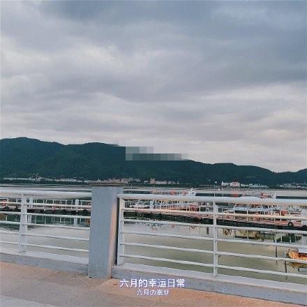 海埂大坝(图据微博网友)