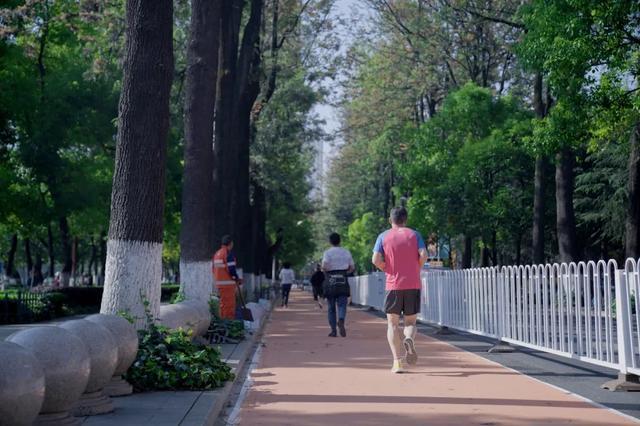 慢跑道上的市民经过讲武堂正门口 4都市时报.webp.jpg