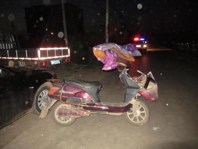 酒后骑电动车也属于酒驾 供图