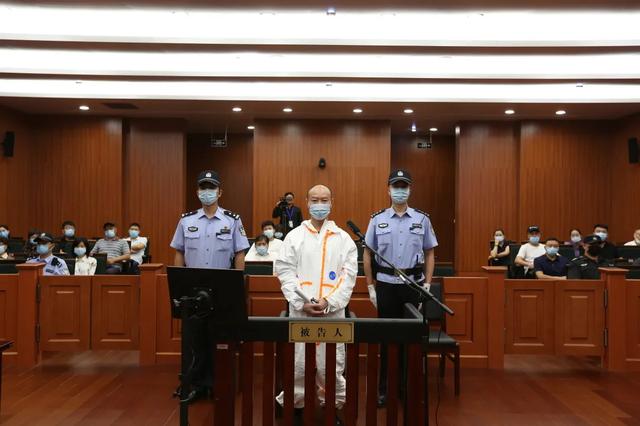杭州中院一审公开开庭审理被告人许国利故意杀人案(图据杭州中院微信公众号)