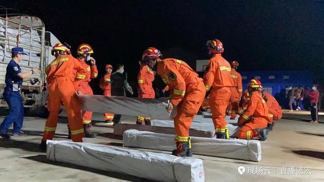 最新通报!盈江地震造成135间房屋受损,无人员伤亡(图据@直播德宏)