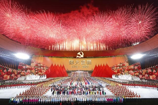文艺演出《伟大征程》在京盛大举行2 央视网.jpg