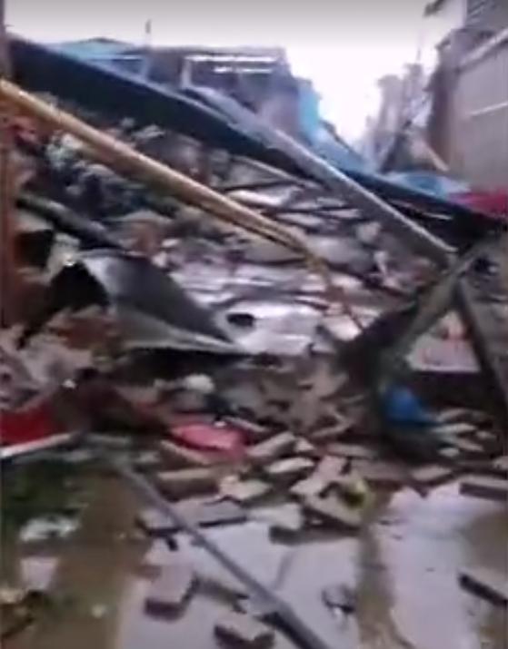 保定清苑东闾村遭龙卷风袭击,造成2人死亡!