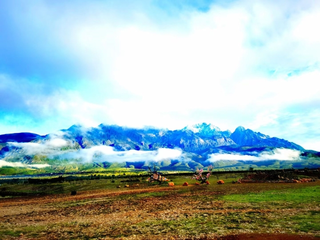 玉龙雪山(图片由@赵子荣 提供)