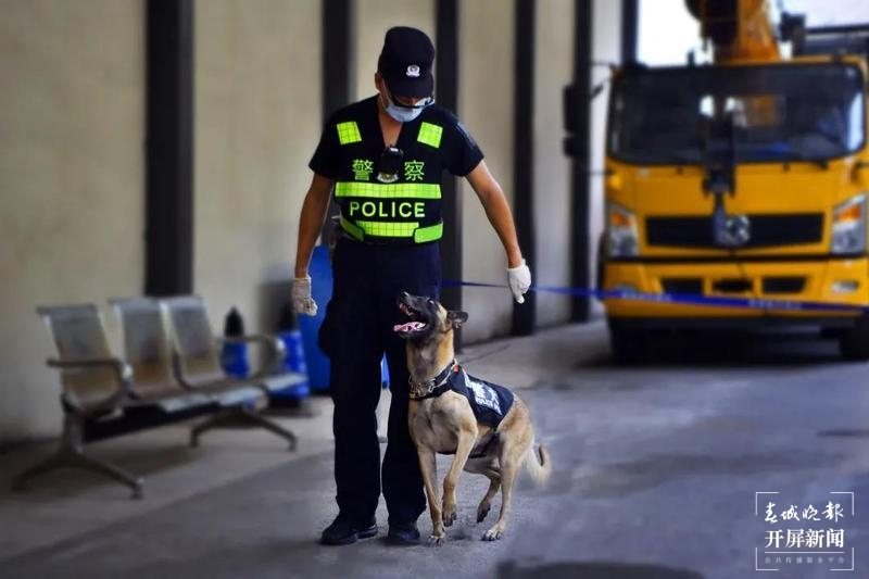 """犬亦有情,""""鹰""""击长""""空""""!芒颜边境检查站一条警犬的故事3.jpg"""