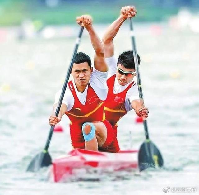 云南小伙加油!皮划艇名将刘浩今日出战奥运赛场