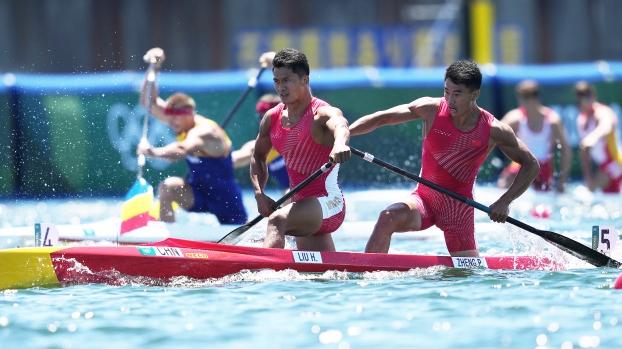 祝贺!云南小伙刘浩与队友勇夺奥运会男子1000米双人划艇银牌