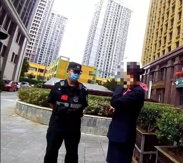 """昆明一女子免遭电信诈骗""""黑手""""1.jpg"""