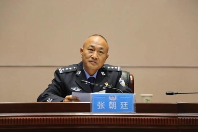 张朝廷同志提名迪庆州人民政府副州长、州公安局局长