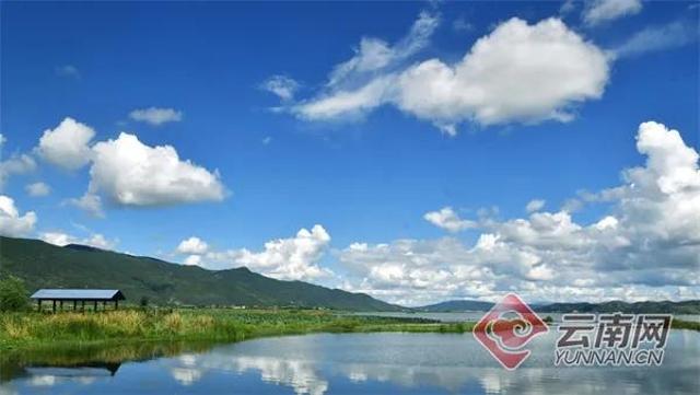 风光旖旎的异龙湖 通讯员 孔宾 摄.jpg