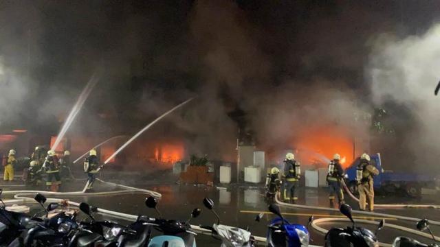 台媒:高雄城中城大楼大火已致45人遇难
