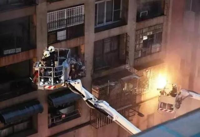 台湾高雄城中城大楼火灾已致46人死亡